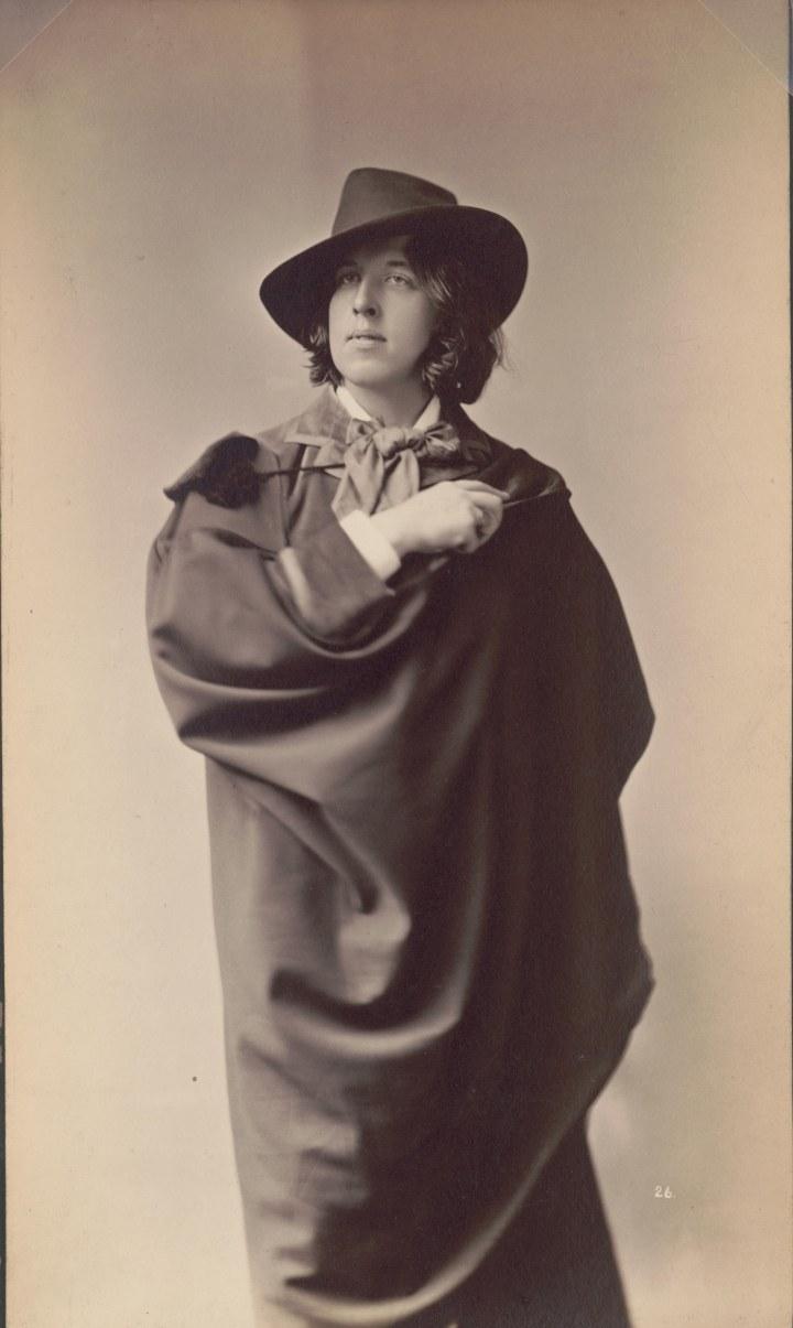 Napoleon Sarony (1821-1896), Portrait d' Oscar © Bibliothèque du Congrès, Washington.