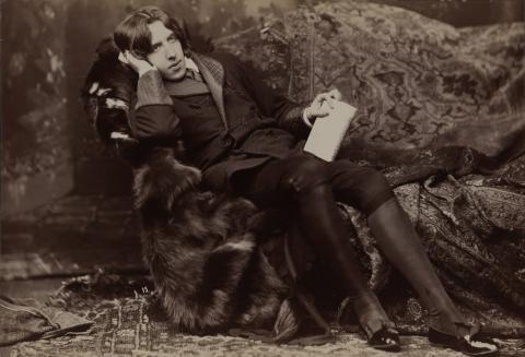 Napoleon Sarony (1821-1896), Portrait d' Oscar Wilde #15, 1882. © Bibliothèque du Congrès, Washington.