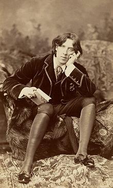 Napoleon Sarony (1821-1896), Portrait d' Oscar